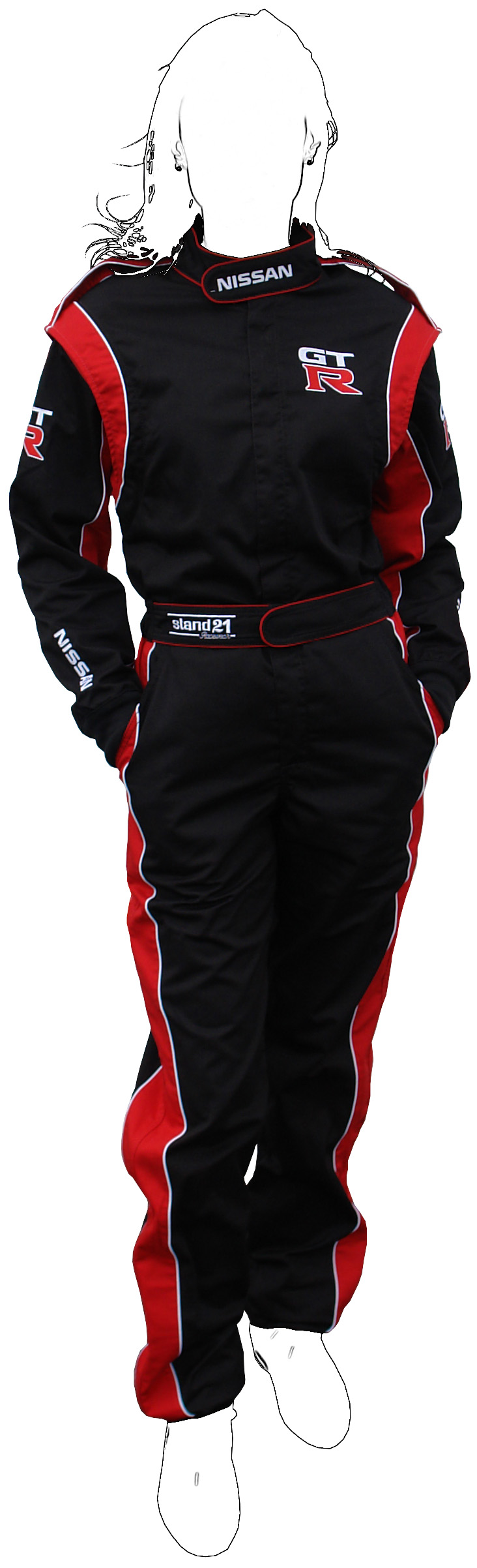 Customized K09 go-kart suit