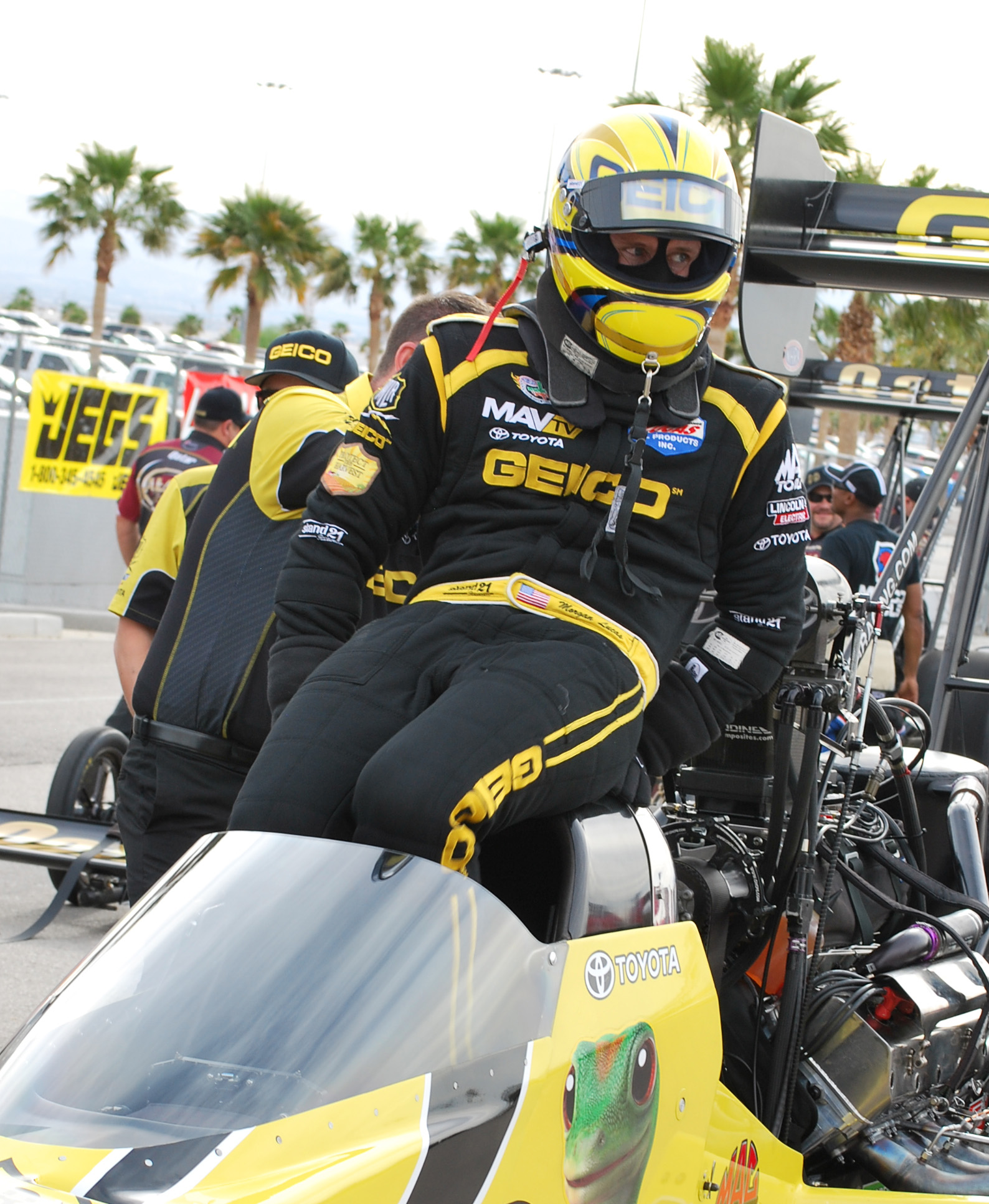 Customized ST3020 HSC Dragster type racing suit
