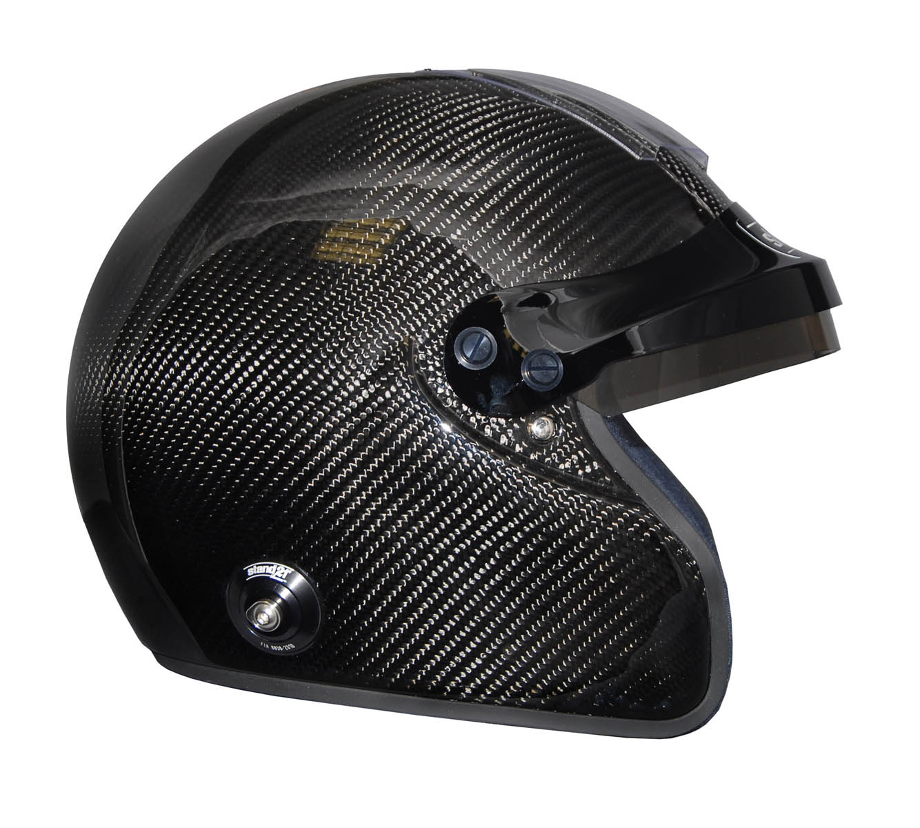 Stock IVOS Open Face Double Duty helmet with peakStock IVOS Open Face Double Duty helmet with peak